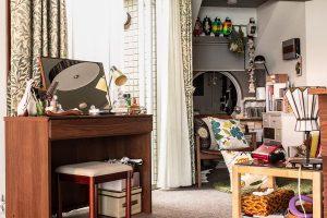 ドラマ『偽装不倫』に高野木工の家具が登場しています