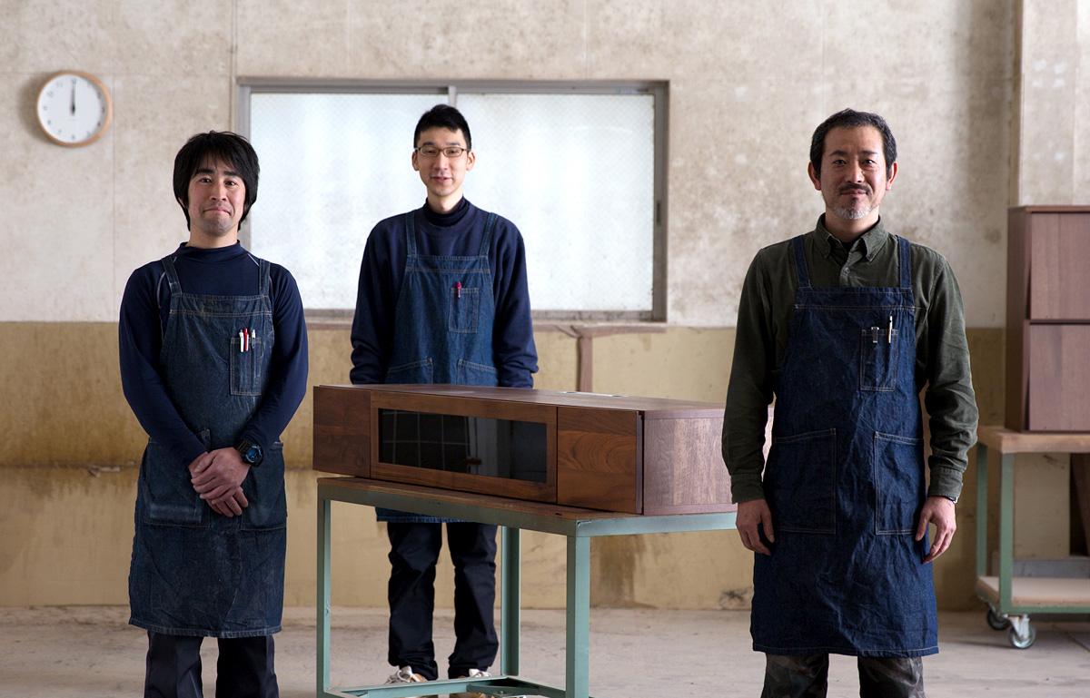 高野木工の職人